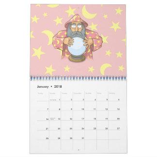 Trollkarl med boll kalender