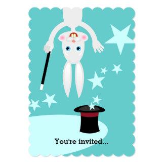 Trollkarlungefödelsedagsfest 12,7 X 17,8 Cm Inbjudningskort