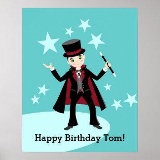 Trollkarlungefödelsedagsfest Poster
