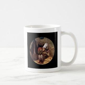 Trollmor och barn kaffemugg