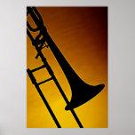 Tromboneaffisch Print