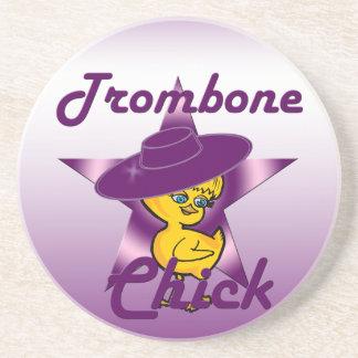 Trombonechick #9 underlägg sandsten