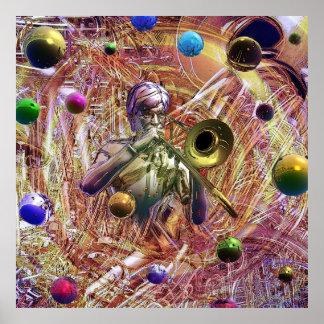 Trombonefantasi Poster