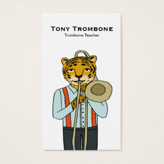 Trombonelärarevisitkort Visitkort