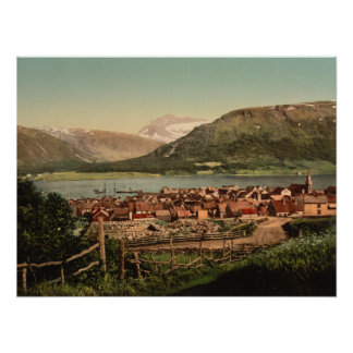 Tromso Troms, Nord-Norge, norge Poster