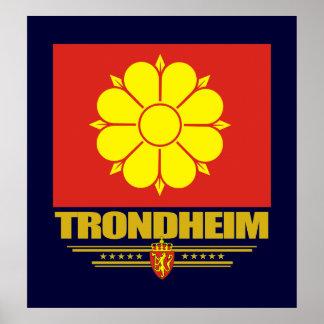Trondheim Affisch