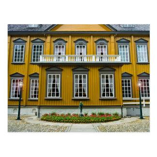 Trondheim den kungliga uppehållet Stiftsgaarden Vykort