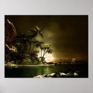 Tropica ö affisch