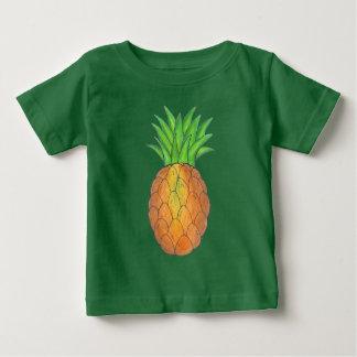 Tropisk ananasutslagsplats tee shirts