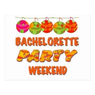 Tropisk Bachelorette partyhelg Vykort