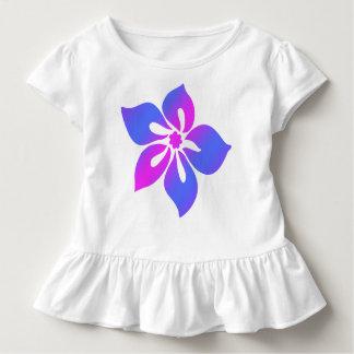Tropisk blom- blandning för lycklig hibiskus tee shirt