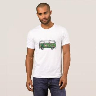 Tropisk buss för T-tröja T-shirts