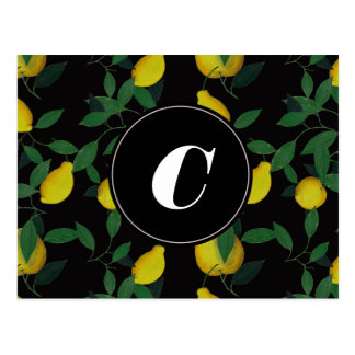 Tropisk citron vykort