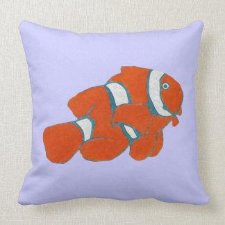 tropisk clownfisk för saltwater kudde