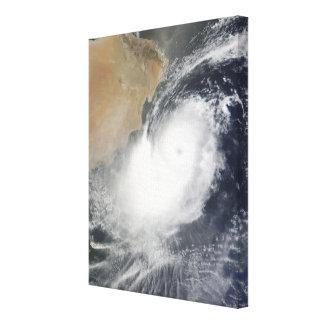 Tropisk Cyclone Phet i Arabianet Sea Canvastryck