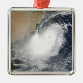 Tropisk Cyclone Phet i Arabianet Sea Julgransprydnad Metall