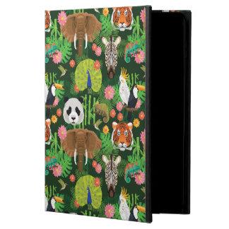 Tropisk djur blandning iPad air skydd