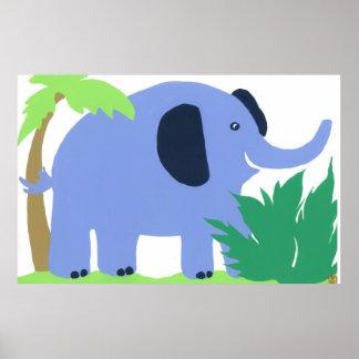 Tropisk elefantkonstför barn, SafarihimmelLook