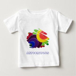 Tropisk färg röra sig i spiral den begynna T-tröja T Shirts