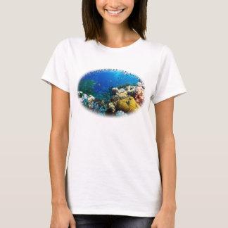 Tropisk fisk av korallhavet tee shirt