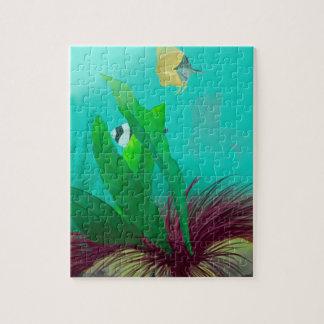 Tropisk fisk pussel