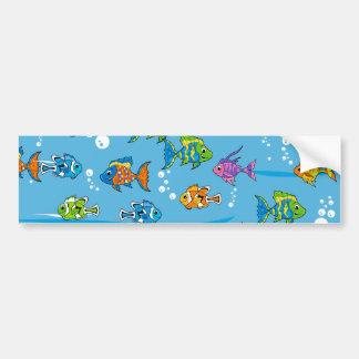 Tropisk fiskbildekal bildekal