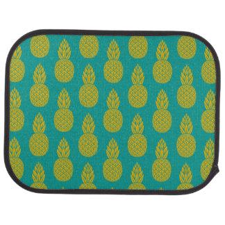 Tropisk frukt för ananas bilmatta