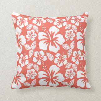 Tropisk hibiskus för bittersöt färg; Blommor Kudde