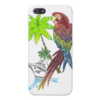 Tropisk kryssning för papegoja iPhone 5 cover