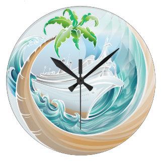 Tropisk kryssning stor klocka