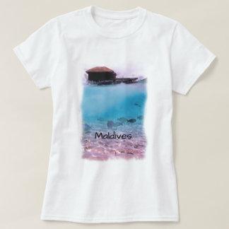 Tropisk Maldiverna rolig Snorkeling souvenir Tröjor