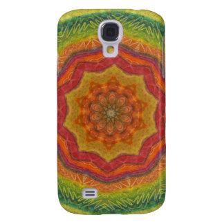 Tropisk Mandala 4/4S/5 Galaxy S4 Fodral