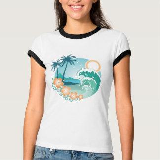 Tropisk ö t-shirt