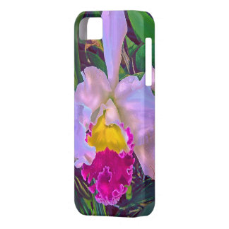 tropisk orchid barely there iPhone 5 fodral
