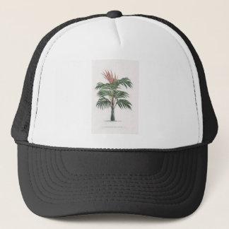 tropisk palmträdsamling - dra V Truckerkeps
