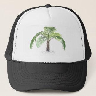 tropisk palmträdsamling - teckning VI Keps