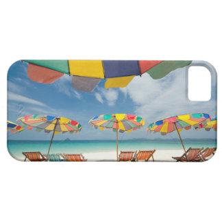 Tropisk sandstrand och turkoshav. 2 iPhone 5 Case-Mate cases