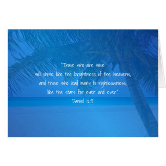 Tropisk Scripture för ledare för Hälsningskort