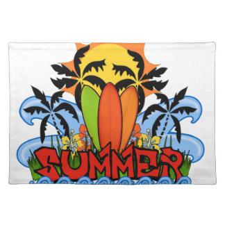 Tropisk sommar bordstablett