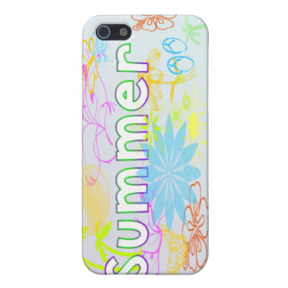 Tropisk sommar iPhone 5 cover