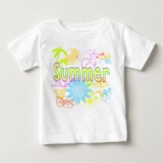 Tropisk sommarskjorta t-shirts