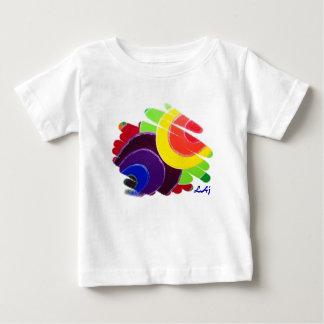 Tropisk spiralspädbarnT-tröja Tee