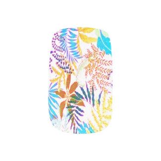 tropisk stil för 70-tal nail art
