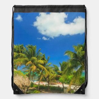 Tropisk strandsemesterort, Belize Gympapåse
