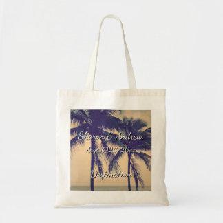 Tropisk tote bags för Palm Beach