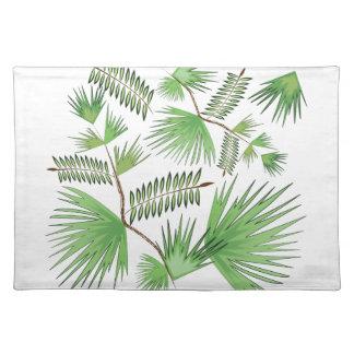 Tropiska löv bordstablett