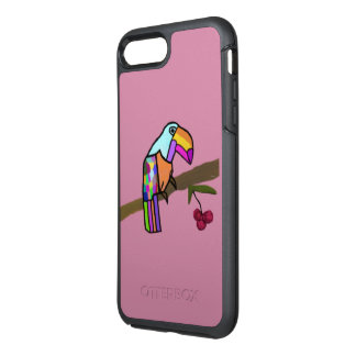 Tropiska Toucan OtterBox Symmetry iPhone 7 Plus Skal