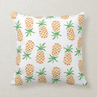 Tropiskt ananasmönstertryck kudde