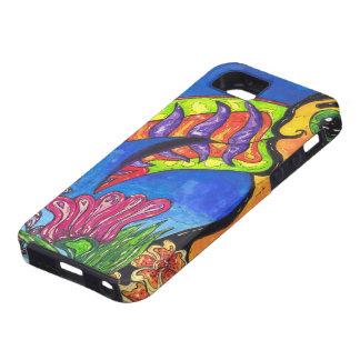 Tropiskt fall för Toucan iPhone 5 iPhone 5 Fodral