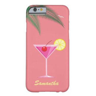 Tropiskt fodral för coctailiPhone 6/6s - korall Barely There iPhone 6 Skal
